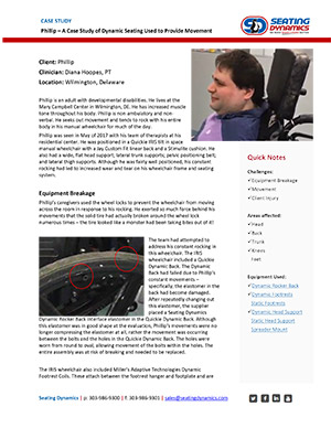 Seating Dynamics Case Study Phillip PDF