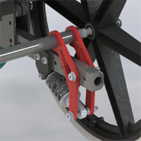 DSS-Dynamic Suspension Systems for Wheelchair
