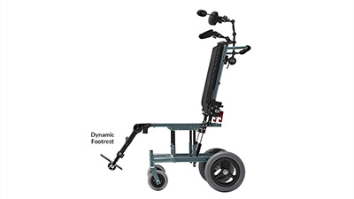 Seating Dynamics Dynamic Footrest for Wheelchair Movement