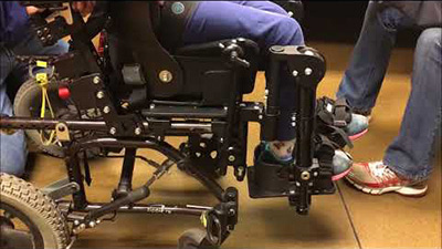Seating Dynamics Dynamic Footrests – high mount