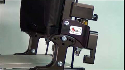 Seating Dynamics Dynamic Rocker Back Interface (DRBi) provides movement
