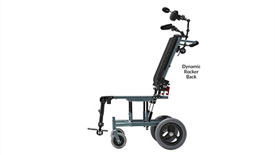 Seating Dynamics Dynamic Rocker Back for Wheelchair Movement