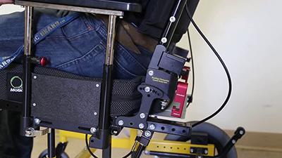 Seating Dynamics Dynamic Rocker Back interface demonstration