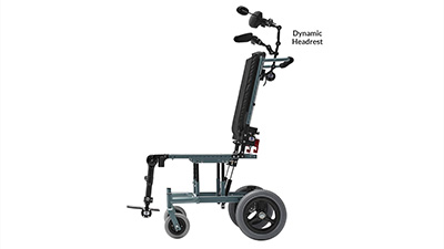Seating Dynamics Dynamic Wheelchair Head Support Movement