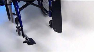 Seating Dynamics One Piece Flip Up Footboard