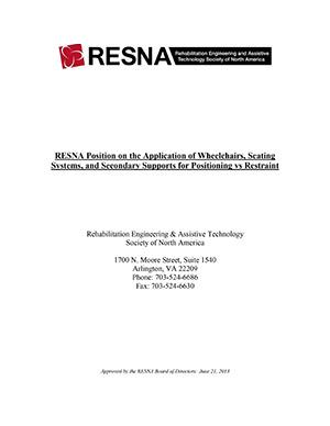 Restraint Position Paper PDF