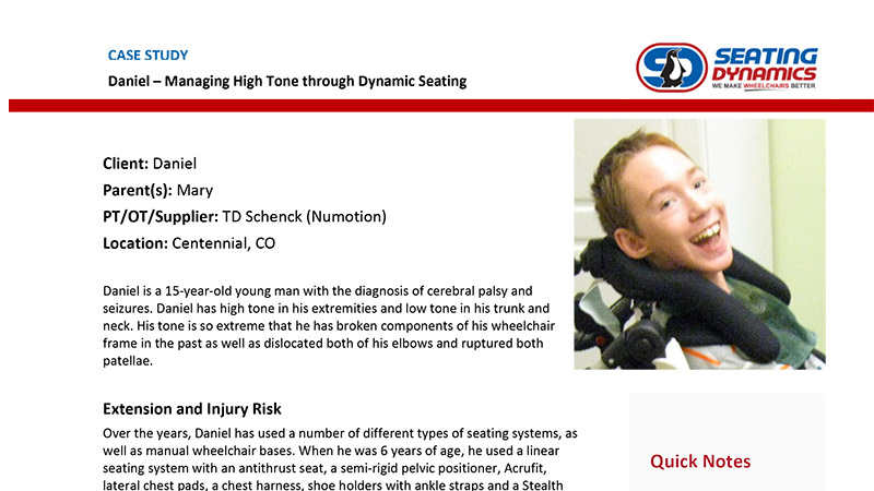 Seating Dynamics Case Study Daniel