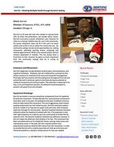 Seating Dynamics Case Study Derrick