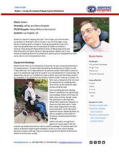 Seating Dynamics Case Study Robert